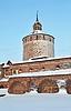 Фото 300 DPI: Белозерская башня Кирилло-Белозерского монастыря, Россия