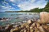 Landscape with beach and rocks - Thailand | Stock Foto