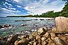 海滩和岩石景观 - 泰国 | 免版税照片
