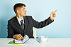 ID 3145579 | Business young man in the office | High resolution stock photo | CLIPARTO