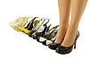 하이힐 여성의 다리 | Stock Foto