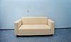 白色的沙发   免版税照片