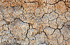 Clay cracked ground | Stock Foto