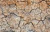 Clay suelo agrietado | Foto de stock