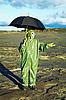 ID 3147017 | 우산과 가스 마스크에 남자 산성비 대기 | 높은 해상도 사진 | CLIPARTO