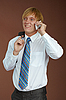 ID 3147516 | Young man talking on phone | High resolution stock photo | CLIPARTO