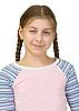 Young girl wink at us | 免版税照片
