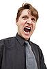 Photo 300 DPI: Shouting in rage man
