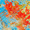 Variegated texture of wall | Stock Foto