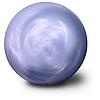 Spiritualistischen blauen Ball Hintergrund | Stock Illustration