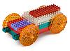 Spielzeugauto aus Meccano   Stock Photo