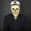 ID 3152732 | Man - skeleton in naval cap | High resolution stock photo | CLIPARTO