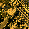 Electronic industrial circuit board | Stock Illustration