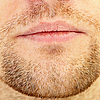 Beard and lips | Stock Foto