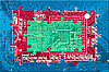 Photo 300 DPI: Electronic circuit puzzle background