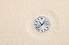 古钟表运往沙 | 免版税照片