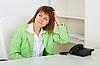 ID 3156541 | Kobieta myśli o czymś | Foto stockowe wysokiej rozdzielczości | KLIPARTO