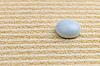 白石黄沙表面 | 免版税照片