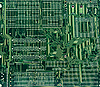 Technological industrial abstract background in green color | Stock Foto
