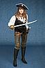 ID 3159593 | Sexy kobieta - pirat uzbrojony w szablę | Foto stockowe wysokiej rozdzielczości | KLIPARTO