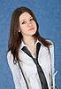年轻美丽的姑娘的肖像 | 免版税照片