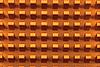黄色金属散热器 - 工业高科技背景   免版税照片