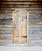 나무로되는 문 | Stock Foto
