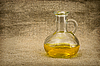 Carafe with yellow oil | Stock Foto