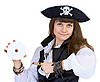 ID 3165876 | Pirate - woman with disc | High resolution stock photo | CLIPARTO