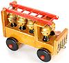 Фото 300 DPI: Старые игрушки пожарная машина