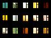 Night windows - block of flats background | Stock Foto