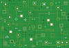 Vector clipart: Electronic hi-tech abstract green background