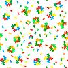 Vector clipart: Seamless eight-bit color texture