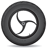 Vector clipart: Wheel for sports bike -