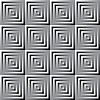 Vector clipart: Abstract monochrome squares pattern