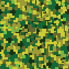 Vector clipart: texture - green summer camouflage