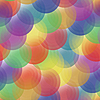 Vector clipart: background - color transparent circles