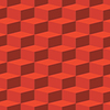 Vector clipart: red abstract texture - boxes