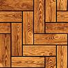 Photo 300 DPI: Naturalistic seamless texture - wooden parquet