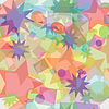 Vector clipart: Abstract multicolored seamless texture