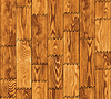 Vector clipart: Seamless texture - wooden boards wall
