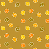 Vector clipart: Abstract design background - cubes