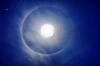Halo wokół Księżyca | Stock Foto