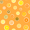 Vector clipart: Vintage gears background