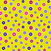 Vector clipart: Seamless texture - color gears