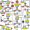 Vector clipart: Color diagram - seamless texture