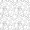Vector clipart: Seamless texture - gray rings