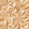 Vector clipart: Stars and triangles - seamless pattern