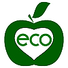Vector clipart: ecological purity of the sign