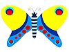Vector clipart: decorative butterfly